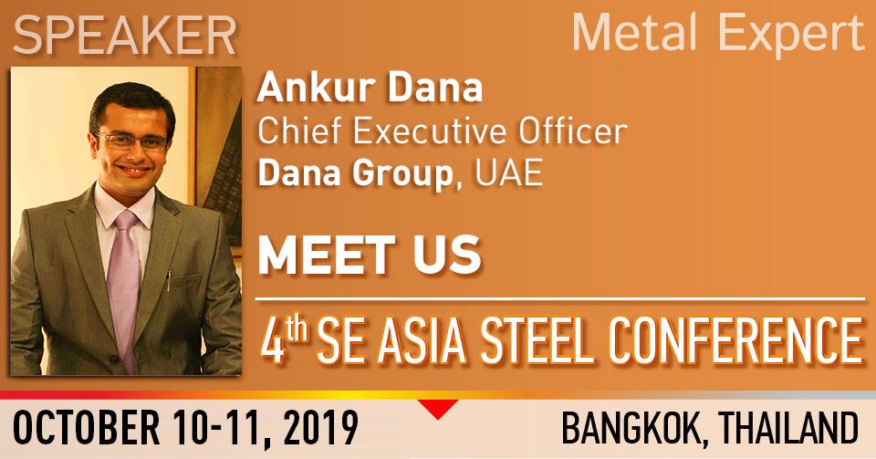 Ankur_dana_speaker_SE_ASIA_STEEL_CONFERENCE