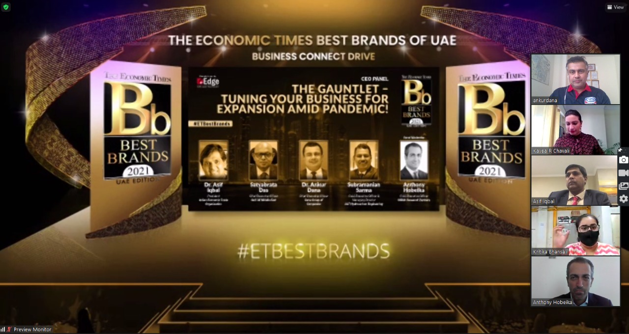 The Economic Times Best Brands of UAE